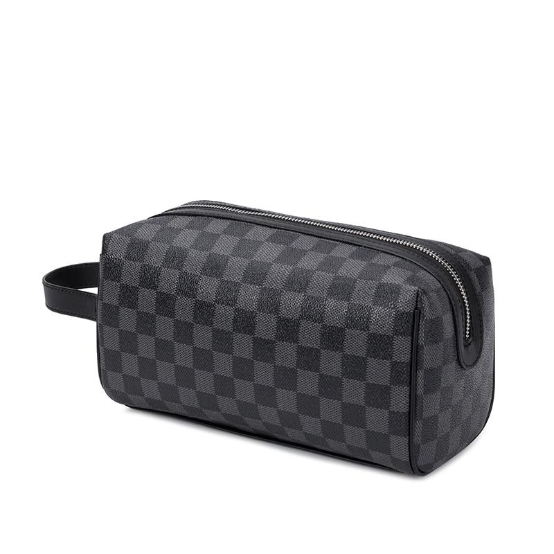 KYYSLO Plaid Design Luxury Women's  Clutch Bag European And American Fashion Clutch Bag Large Capacity Pu Female Bag