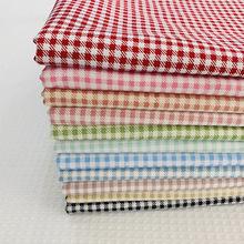 Plaid serii drukowane tkanina bawełniana typu diagonal oddychająca miękka czysta tkanina bawełniana typu diagonal dla Patchwork do uszycia DIY tkaniny rękodzieła tanie tanio Tkane CN (pochodzenie) Oddychające Tkaniny satyna warp 160cm Inne tkaniny 100 bawełna PRINTED Twill Ściegu związany
