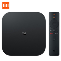 Original Xiaomi Mi Box S Android 8.1 TV Box Media Player 2GB 8GB Cortex A53 HDMI2.0 2.4G + 5.8G WiFi Bluetooth 4.2 Voice Remote