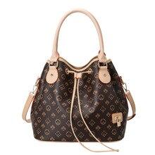Bucket Bag 2021 European and American Women Fashion Large-capacity Handbag Ladies Shoulder Bag Drawstring Women Messenger Bag