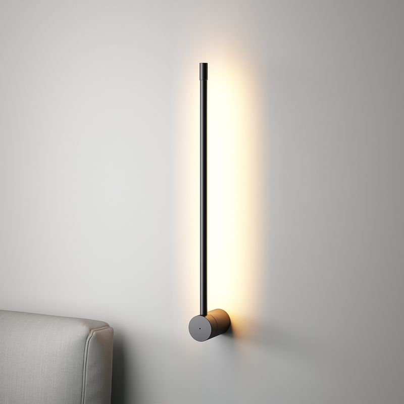 Nordic Minimalist Long Wall Lamps Modern Led Wall Light Indoor Living Room Bedroom Led Bedside Lamp Home Decor Lighting Fixtures Special Discount Ab702 Cicig