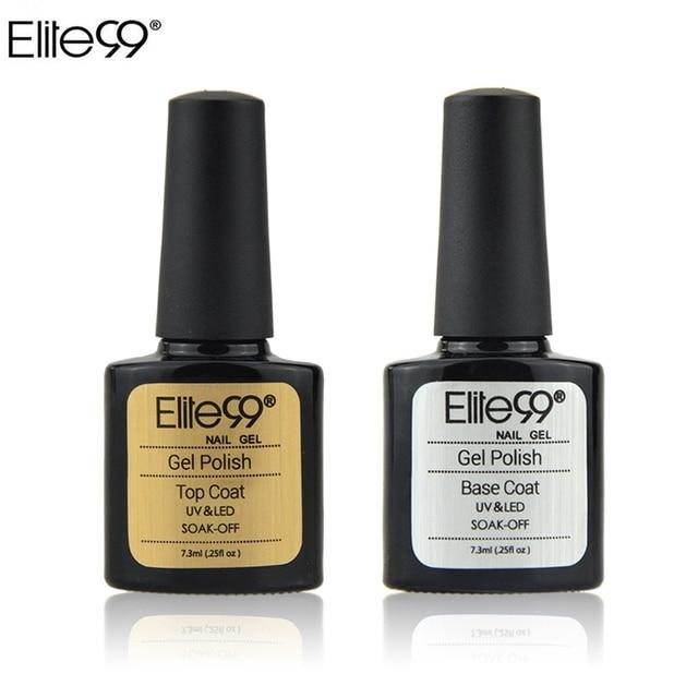 Elite99 7,3 ml UV Nagel Gel Polish Top Coat für UV Gel Nail art Design Shiny Top Mantel Verwenden mit nagel Primer Basis Mantel LED Lampe Brauchen