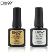 Elite99 7,3 мл УФ-гель для ногтей верхнее покрытие для УФ гель для ногтей дизайн Блестящий верхнее покрытие использование с ногтей Грунтовка Баз...