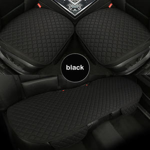 Image 2 - Universal car seat cover four seasons use comfortable and breathable car seat protector front and rear cushions auto Accessories