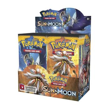 360Pcs/set Pokemon Cards TCG: Sun & Moon Booster Box Trading Card Game Carte Toy 1