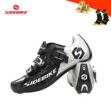 SIDEBIKE Road bike shoes men zapatillas ciclismo ultra-light breathable cycling sneakers women outdoor road racing bicycle shoes