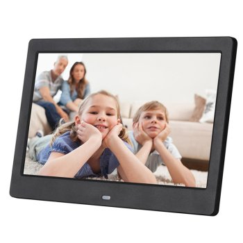 10 Inch Lcd Widescreen Hd Led Electronic Photo Album Digital Photo Frame Wall Advertising Machine Gift