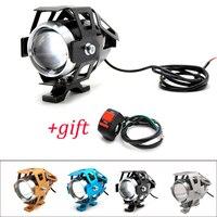 Moto rcycle LED phares U5 Led projecteur moto lumière brouillard projecteurs 12V pour Suzuki gs 500e gsx 650f gsf 1250 650 gsr 600 750