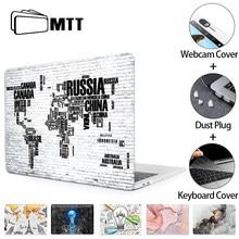 Mtt 2020 capa para macbook pro ar 11 12 13 15 16 funda com touch id pro 13.3 bolsa para portátil a2289 a2251 a1278 a2337 a2338