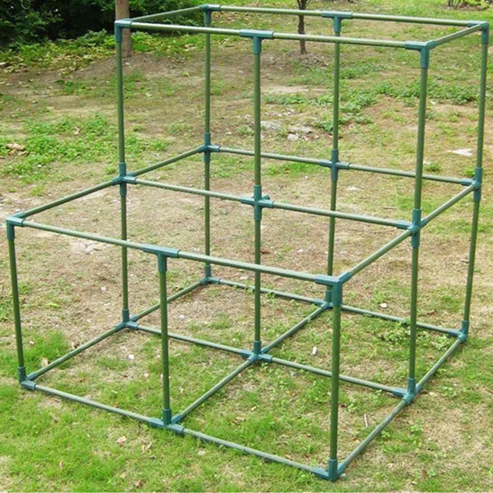 16 Mm Pvc Fitting Stabiele Ondersteuning Zware Kas Frame Building Connector Haakse 3 4 5-Way Connector tuin Gereedschap