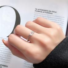 Fashion irregular temperament joker Geometric Adjustable bamboo shape opening Ring Retro Refers index finger joints Rings women retro style engraving rose shape women s finger ring