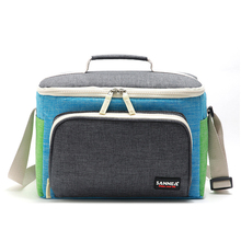 Refrigerator Lunch Box Outdoor Picnic Bags Insulated Bag Camping Travel Barbecue Tools Beer Drink Basket Soft Cooler Beach