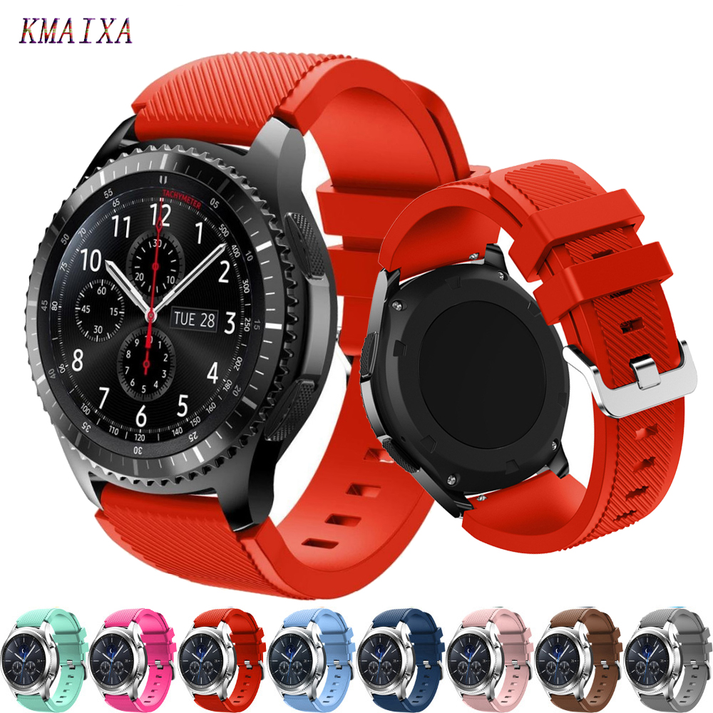For Huawei Watch GT 2 Strap Samsung Galaxy Watch Active 2 46mm 42mm Gear S3 Frontier Amazfit Bip Strap 20/22mm Watch Strap 44/40