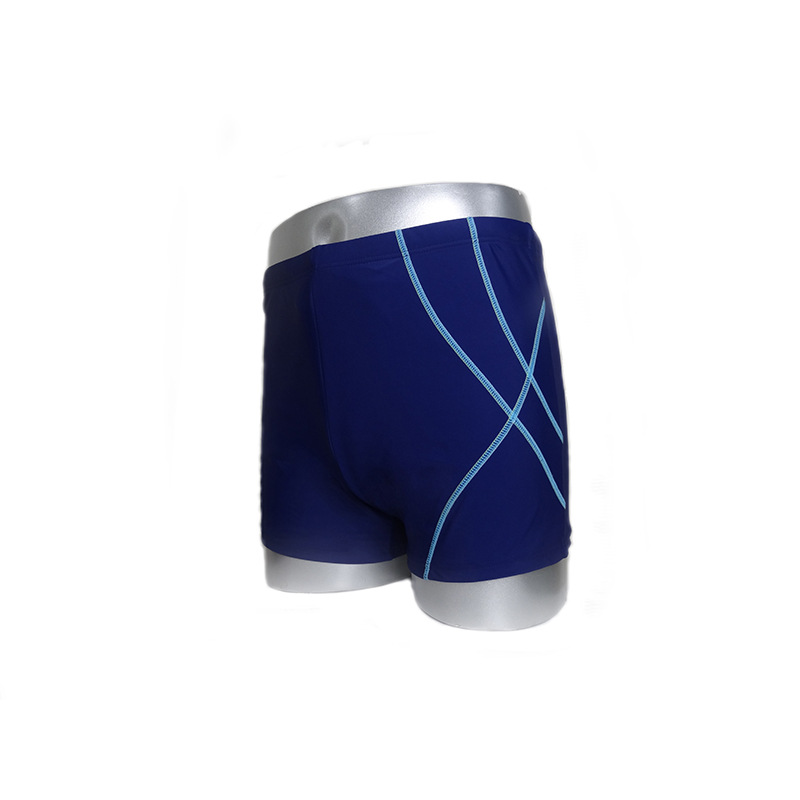 Swimming Trunks Men's Men Boxer Sports Shorts Beach Shorts Trend Loose Comfortable Sweat-wicking Swimming Trunks