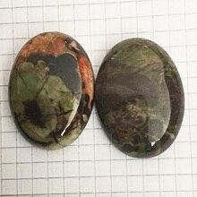 FLTMRH 22x30 мм натуральный драгоценный камень Лазурит Овальный Кабошон Камея Fit DIY Изготовление ювелирных изделий