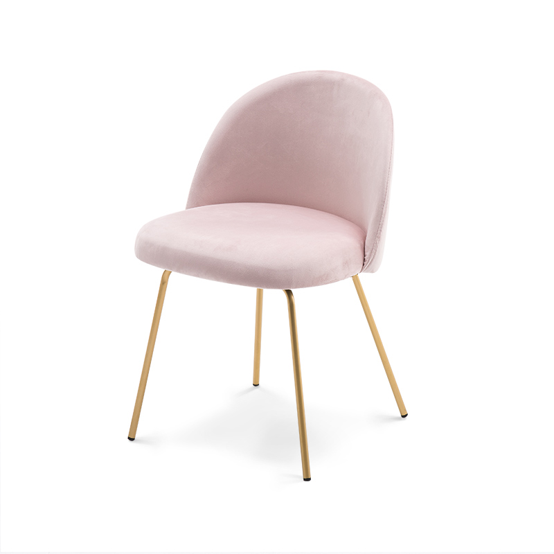 North Europe Ins Net Red Girls Dressing Table Stool Iron Art Makeup Chair Dining  Coffee Shop Back  Modern Simple