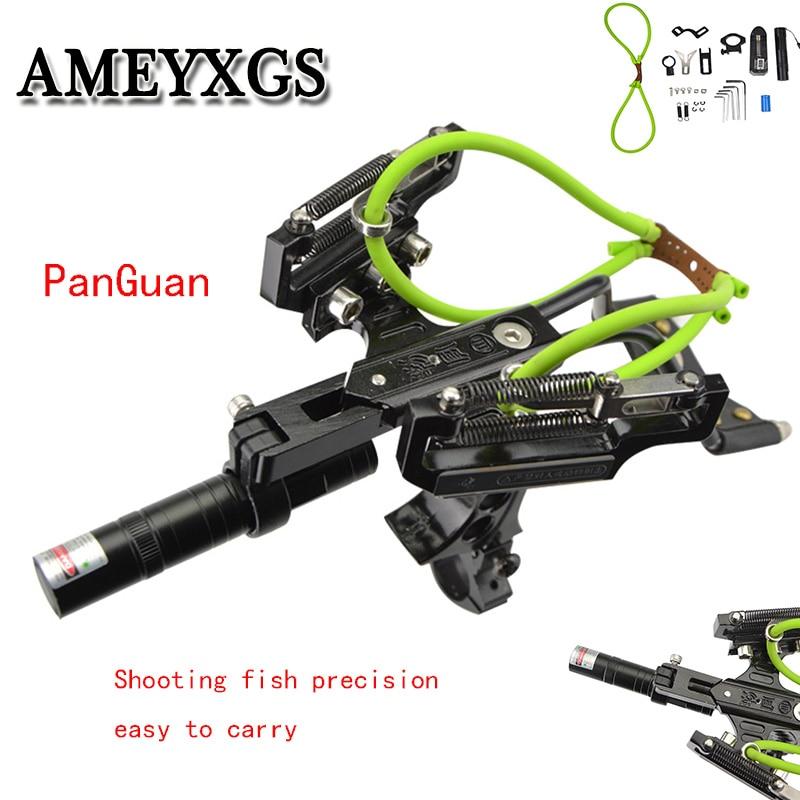 1 Set Archery Fishing Slingshot High Precision Shooting Fish Artifact Professional Novice Hunting Accessories