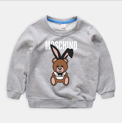 Clothing Pullover Sweater Cartoon Children's Neck-Shirt Autumn Winter Round New And 2-7-Years