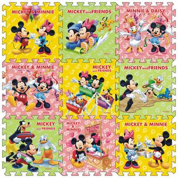 9 sztuk paczka Mickey Minnie mata 30x30cm za sztukę dziecko dzieci grać mata podłogowa mrożone Mickey mata z pianki mata do gry mata dla niemowlęcia tanie i dobre opinie Disney 0-3 M 4-6 M 7-9 M 10-12 M 13-18 M 19-24 M 2-3Y 4-6Y 7-9Y 10-12Y 13-14Y 14Y 90x90cm Mat-15