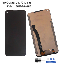 6.35For OUKITEL C17 LCD Display Touch Screen 100% Original Tested LCD Digitizer Glass Panel Replacement For Oukitel C17 Pro LCD туфли ferto c17 6115 3