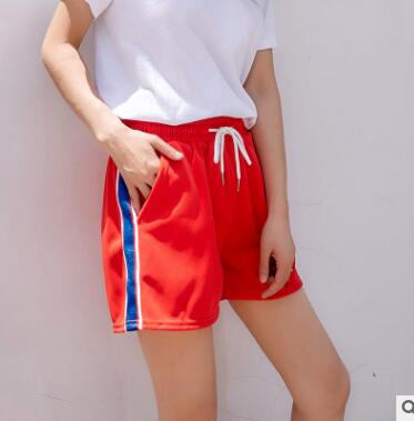 XHS63 Short Shorts Female Summer Sports Students Wear Shorts In A Relaxed And Casual Style
