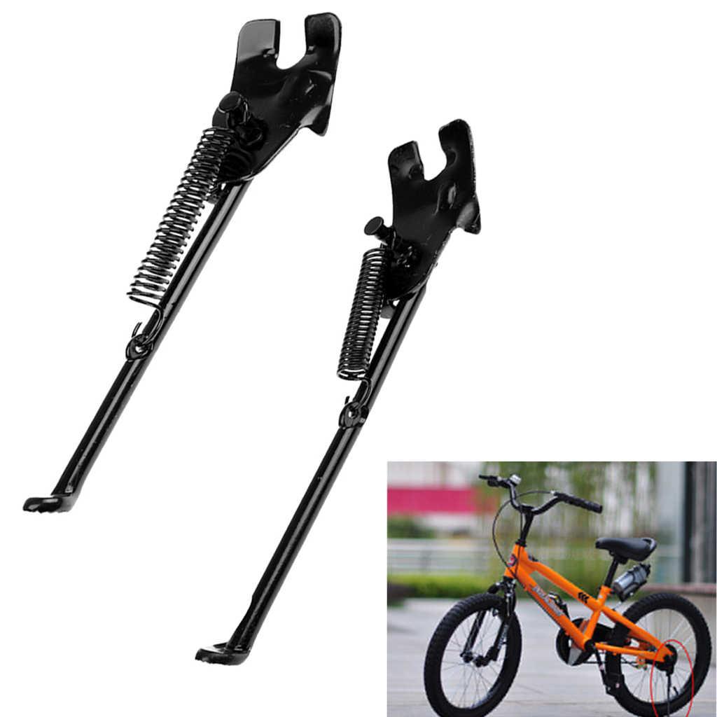 """2x 16/"""" 20/"""" Kid Steel Bicycle Kickstand Side Single-Side Prop Rear Mount"""