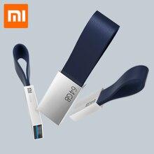 Original Xiaomi Mijia U disque 64GB USB 3.0 Transmission à grande vitesse corps en métal taille compacte conception de lanière portable