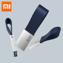 Оригинальный Xiaomi Mijia U диск 64 Гб USB 3,0 высокоскоростной металлический корпус Компактный размер портативный дизайн шнурка