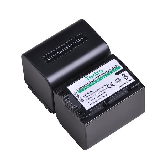 3pack 2500mAh NP-FV70 NPFV70 NP FV70 NP-FV70A Batteries For Sony NP-FV50 FV30 HDR-CX230 HDR-CX150E HDR-CX170 CX300