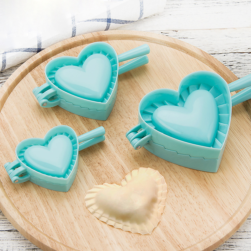 Kitchen Dumpling Mold Heart Butterfly Flower Shape DIY Dumplings Maker Dough Press Dumpling Pie Ravioli Mould Baking Accessories image