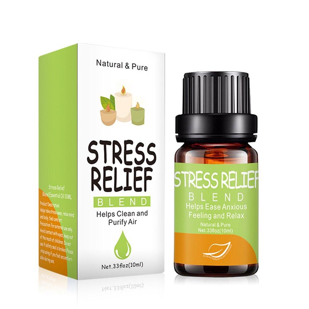 10 мл аромат успокаивает эмоцию массаж чистый натуральный снятие стресса ароматерапия Релаксация уход за кожей эфирное масло