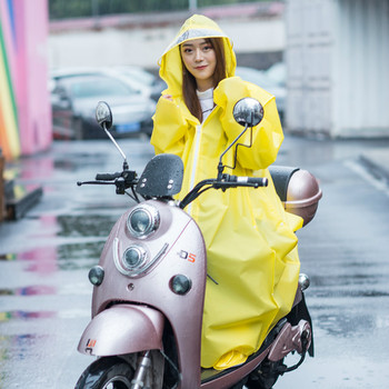 Adult Stylish Long Raincoat Women Transparent Impermeable Waterproof Raincoat Travel Capa De Chuva Rain Protection Coat KK60YY