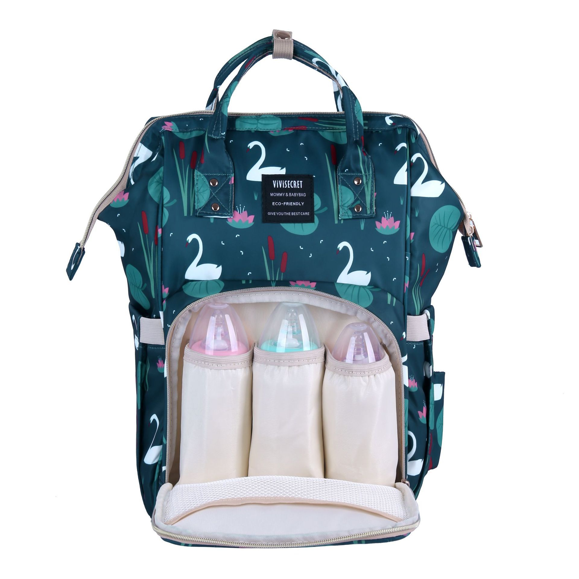 New Style Printed Multi-functional Mummy Bag Hot Sales Mother's Bag Maternity Package Babybag Backpack