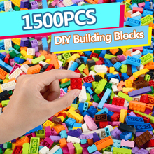 1500PCS Building Blocks Sets City DIY Bricks Creative Bulk Model Toy Compatible Figures Educational Birthday Gift Toys For Kids все цены
