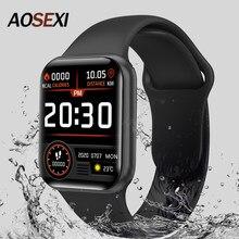 Novo x12 relógio inteligente das mulheres dos homens 1.57 tracker rastreador de fitness tela sensível ao toque completo ip67 à prova dip67 água monitor freqüência cardíaca para ios android xiaomi