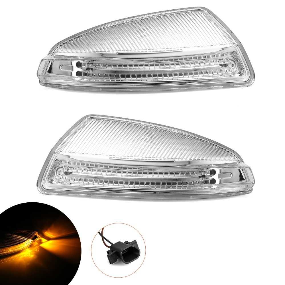 1Pair L+R Door Mirror Turn Signal Light Fit For Mercedes-Benz W164 ML300 ML500