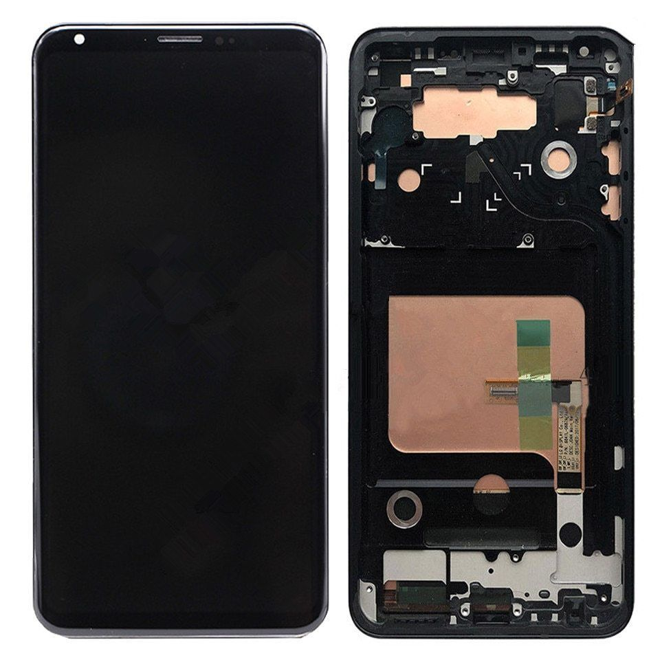 For LG V35 ThinQ / LG V30 Plus / LG V30 H930 VS996 LCD Display Touch Screen Digitizer Panel Replacement With Frame