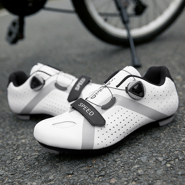 Profissional atlético sapatos de bicicleta mtb sapatos de ciclismo homem auto-bloqueio sapatos de bicicleta de estrada 6