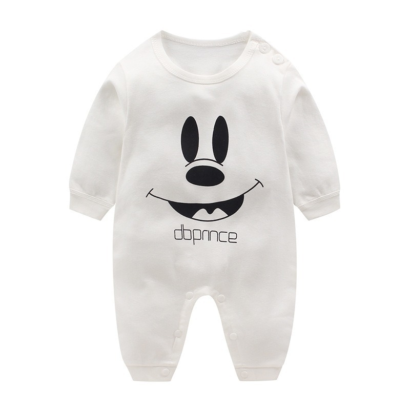 Disney Baby Rompers Baby Boy Clothes Girls Clothing Newborn Infant Jumpsuit Winter Mickey Outfits Cartoon Onesies Baby Clothes | Happy Baby Mama