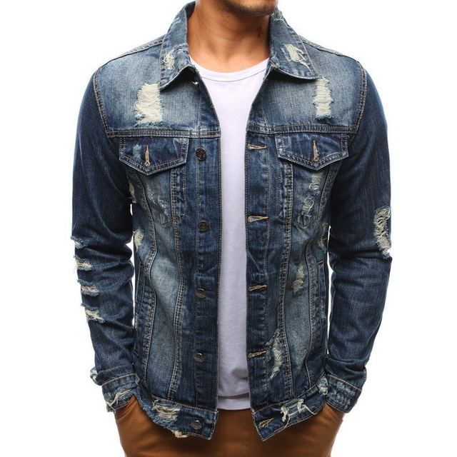 Denim Bomber Jacket 1