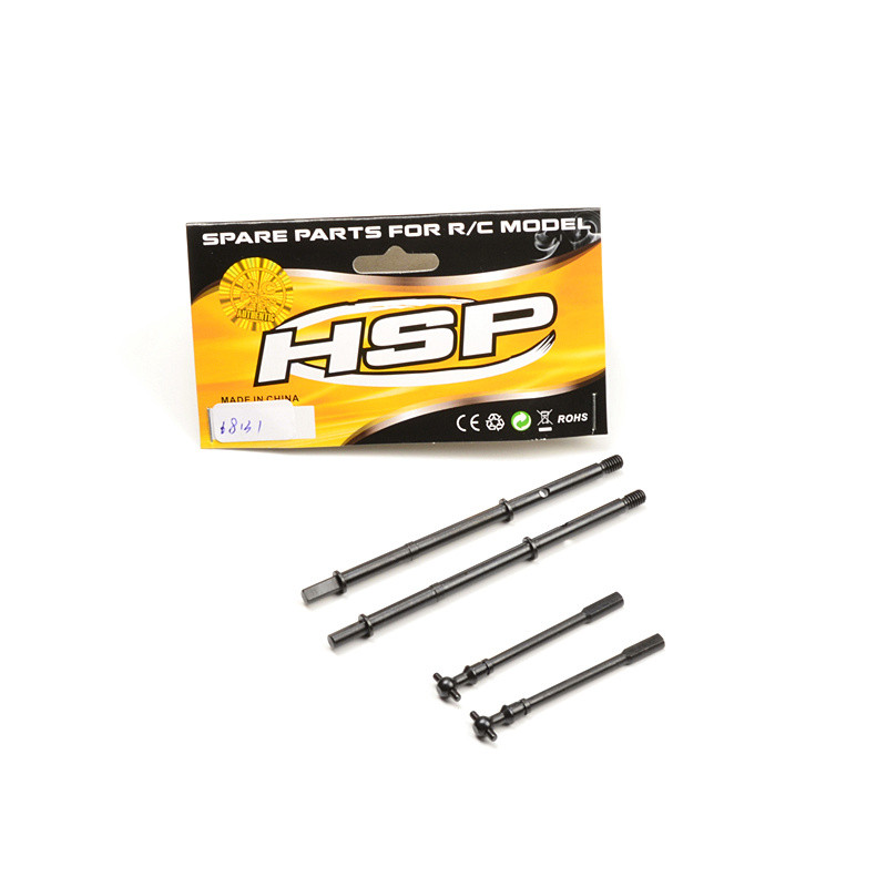 HSP RGT RACING SPARE PART CAR ACCESSORIES 68131 DRIVE SHAFT SET OF RGT 1/10 ELECTRIC POWER 4X4 OFF ROAD ROCK CRUISIER 136100