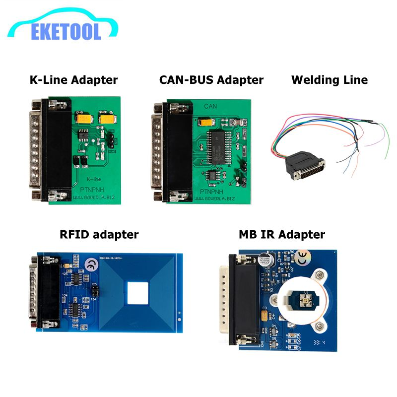 CAN BUS/K-Line/Welding Line/RFID/MB IR/PCF79XX All Kinds Adapters  For IPROG+ IProg Prog Programmer Replace Parts