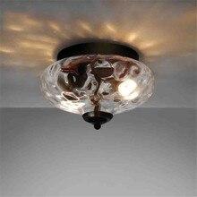 Nordic Ceiling Light Living Room Lights Iron Study  Led Flush Lighting Loft Decor Dining Mount
