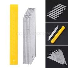 10pcs/Box 30-Degrees Cutter Blade-Trimmer Sculpture-Blade Stainless-Steel School-Supplies