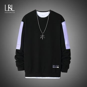Oversized Crewneck Sweatshirt Men 2020 Spring  1