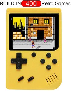 Handheld Classic 8 Bit Game Console Mini 3 Inch LCD Color Screen Game Console 400 In 1 for Boys Gifts