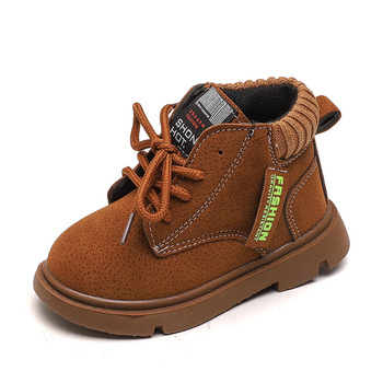 COZULMA Kids Fashion Boots Autumn Winter Baby Boys Shoes Girls Martin Boots Children Shoes Boy Girl Snow Boot Girl Boy Sneakers cozulma autumn winter kids martin boots boys girls boots sneakers toddler kids snow boots child casual sneakers shoes size 21 30