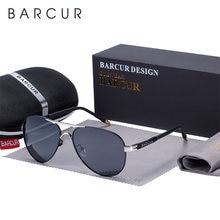 Barcur мужские пилот солнцезащитные очки авиаторы uv400 Поляризованные