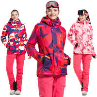 VECTOR Brand Ski Suit Women Warm Waterproof Skiing Suits Set Ladies Outdoor Sport Winter Coats Snowboard Snow Jackets and Pants