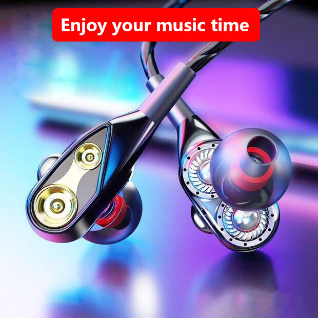 Wired Earphone In-ear Headset Earbuds Bass Earphones For IPhone 7 Samsung Huawei Xiaomi 3.5mm Sport Gaming Headset With Mic